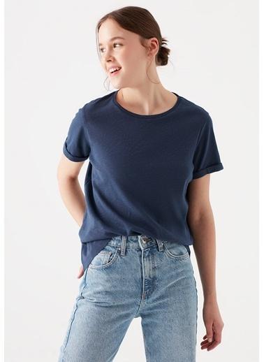 Mavi  Basic Tişört Lacivert